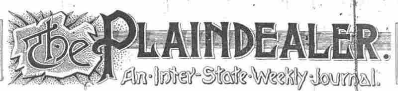 """The """"Plaindealer"""" banner"""