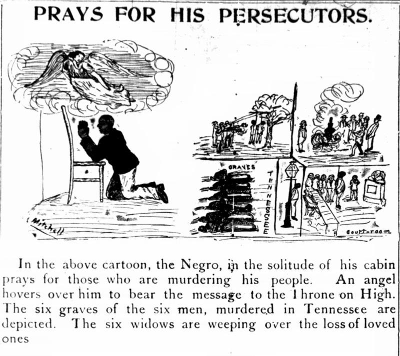 """Prays for His Persecutors"""