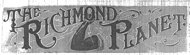 """Richmond Planet"" banner"