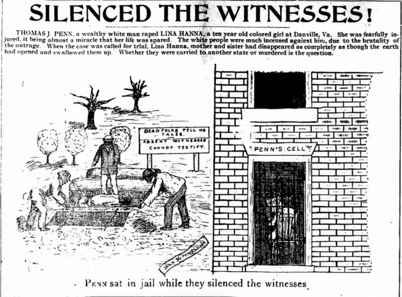 """Silenced the Witnesses"""
