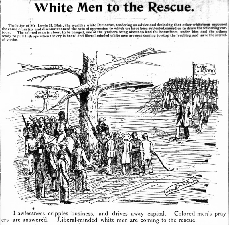 """White Men to the Rescue"""
