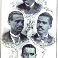 """Benjamin Pelham, Robert Pelham Jr., William H. Anderson, Walter H. Stowers"""