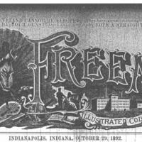 "Indianapolis Freeman ""banner"""